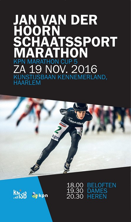Jan van der Hoorn Marathon 2016