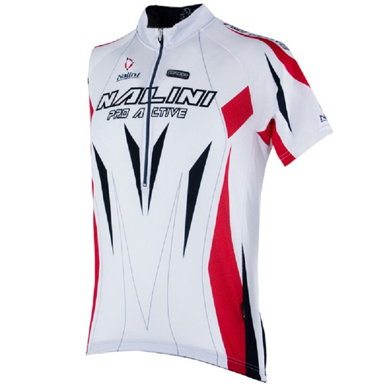 Nalini cycling shirt pesco white/red size XL