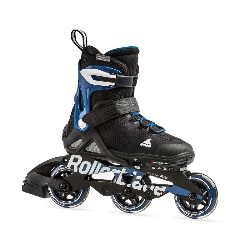 Rollerblade Microblade zw/blauw