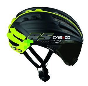 Casco Speedairo RS zwart/neon