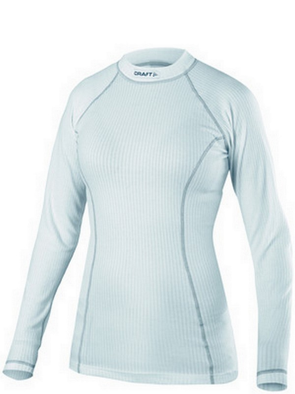 Craft Active W shirt long sleeve crewneck white L