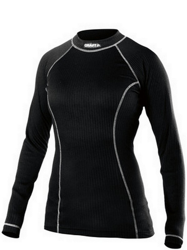Craft Active W shirt long sleeve crewneck black XL
