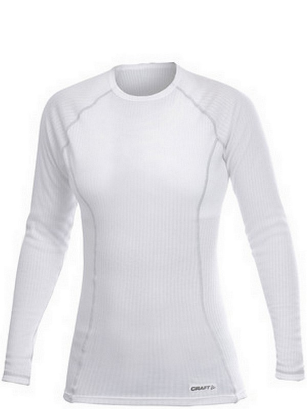 Craft Active W shirt long sleeve roundneck white XL