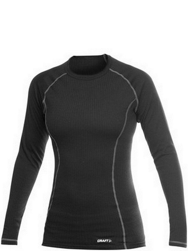 Craft Active W shirt long sleeve roundneck black L