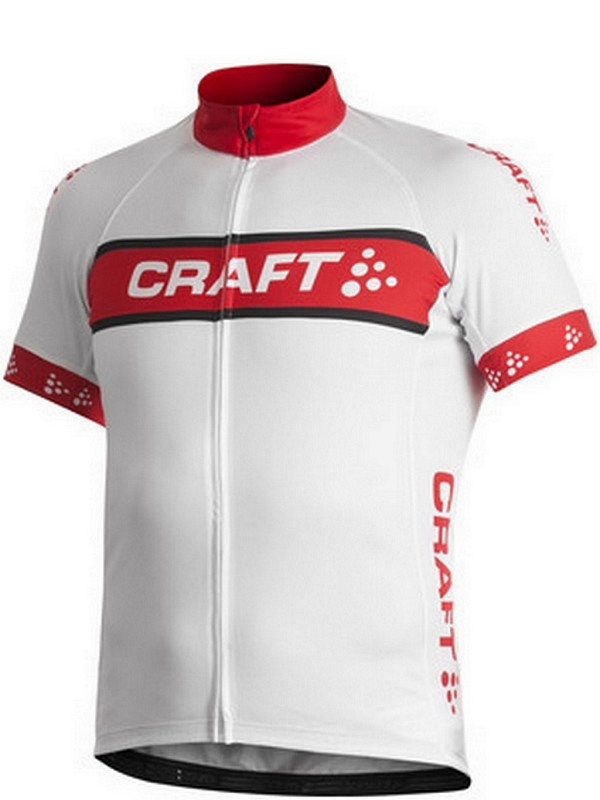 Craft Active bike logo jersey white M
