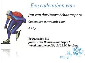 Jan van der Hoorn schaatssport giftcard